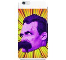 Nietzsche Burst 4 - by Rev. Shakes iPhone Case/Skin