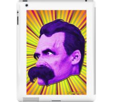 Nietzsche Burst 4 - by Rev. Shakes iPad Case/Skin