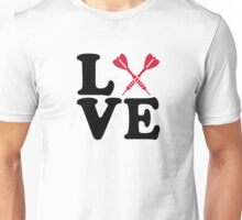 Darts love Unisex T-Shirt