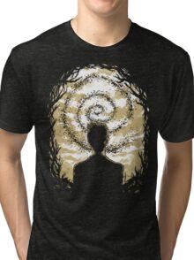 Carcosa's Spiral Tri-blend T-Shirt