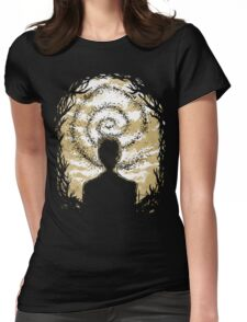 Carcosa's Spiral Womens Fitted T-Shirt