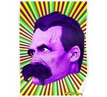 Nietzsche Burst 5 - by Rev. Shakes Poster