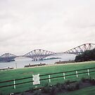 Classic Forth Rail Bridge, Scotland by lenspiro