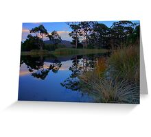 Captain Cook Creek HDR - Adventure Bay, Bruny Island, Tasmania Greeting Card