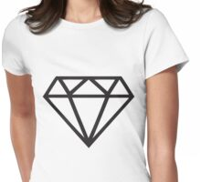 Black Diamond Womens Fitted T-Shirt