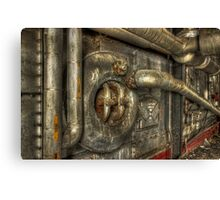 PIPES ! Canvas Print