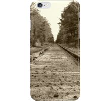 Down The Rails iPhone Case/Skin
