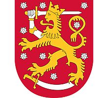Coat of Arms of Finland  Photographic Print