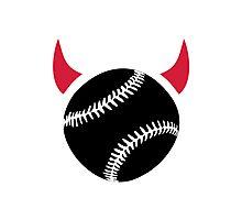 Baseball devil Photographic Print