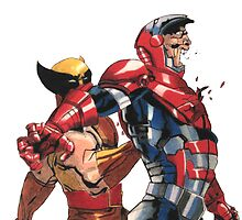 Daken Dark Wolverine and The Iron Patriot Norman Osborn by PeterRomeo