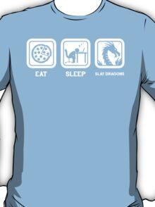 Eat, Sleep, Save Dragons (Repeat) T-Shirt