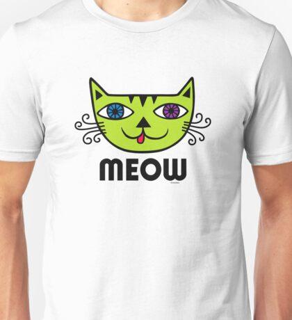 Meow Cat multi Unisex T-Shirt