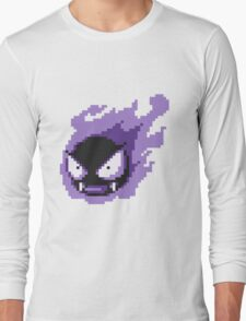 Pokemon - Gastly Sprite Long Sleeve T-Shirt