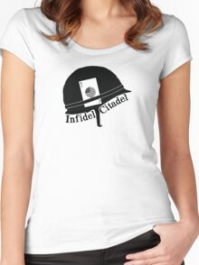 Infidel Citadel Brand Women's Fitted Scoop T-Shirt