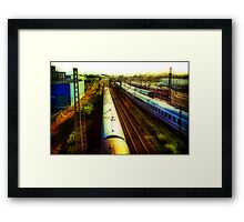 German Train Framed Print