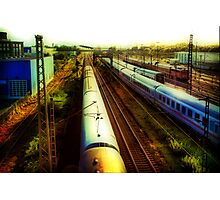 German Train Photographic Print