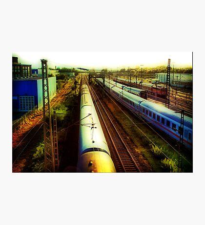 German Train Photographic Print