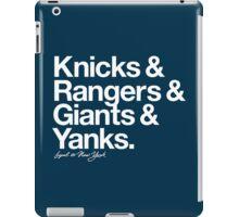 Loyal to New York (White Print) iPad Case/Skin
