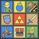 Zelda Pop Art by thehookshot