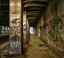 Bridge to nowhere by fotomario