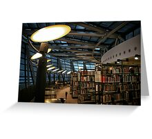 Library Dortmund Greeting Card