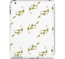 Leaves and berries iPad Case/Skin