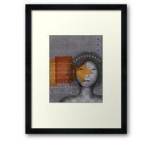 Star Girl Framed Print