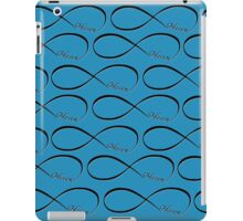 Haven Forever Infinity Symbol Black Logo iPad Case/Skin