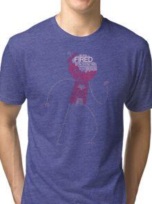 Regular Show / Benson Typography Tee Tri-blend T-Shirt