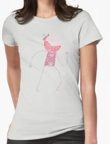 Regular Show / Benson Typography Tee Womens Fitted T-Shirt