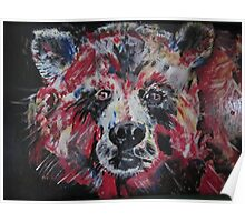 Red Bear Poster