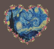 Starry Night inside the Heart by thescudders