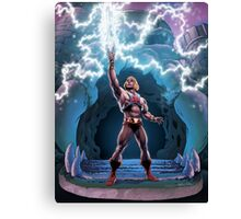 Most Powerful Man in the Universe transforming Canvas Print