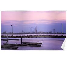 Cedar Point at Sunrise Poster