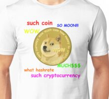 DogeCoin Tee with phrases Unisex T-Shirt