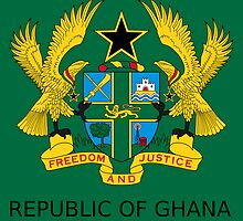 National Seal of Ghana  by abbeyz71