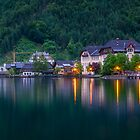 Lake Hallstatt - Austria by Helen Green