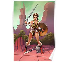 The Warrior Goddess Poster