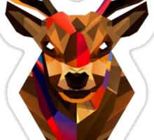 Abstract Deer Sticker