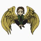 Supernatural Gabriel Chibi by KOTMZain