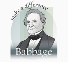 Babbage - Make A Difference by coderArt