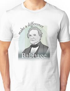 Babbage - Make A Difference Unisex T-Shirt