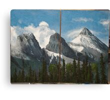 the Three Sisters - 2010 Canvas Print