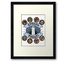 Bioshock Vigors Framed Print
