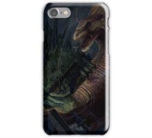 Godzilla vs Titanosaurus iPhone Case/Skin
