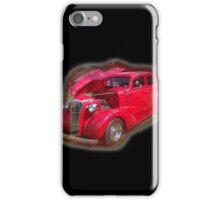 Red Antique Car.  iPhone Case/Skin