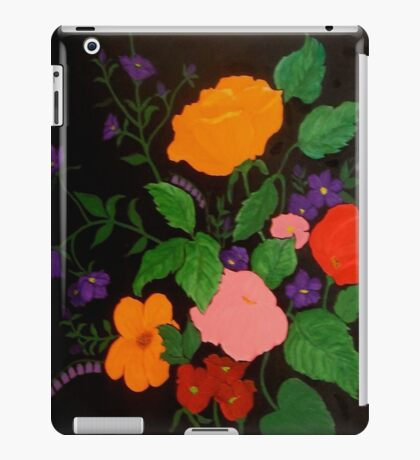 Summer Flowers i-pad case iPad Case/Skin