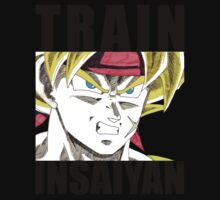 Bardock Trains Insaiyan Kids Clothes