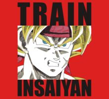 Bardock Trains Insaiyan T-Shirt