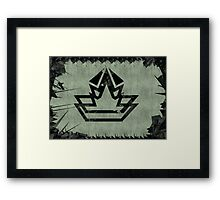 Elite Star Crown Framed Print